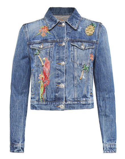 Denim Jacket Glaudiolus