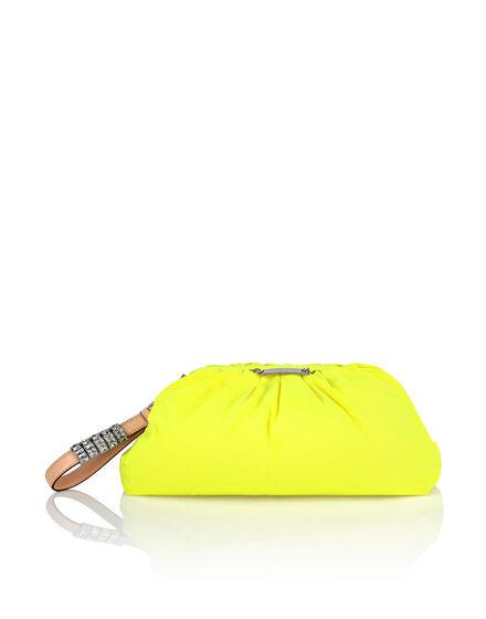 Nylon Big Pillow bag Iconic Plein