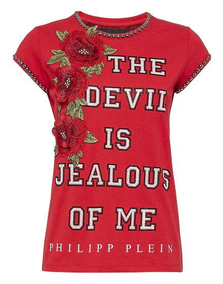 T-shirt Round Neck SS Devil is jealous