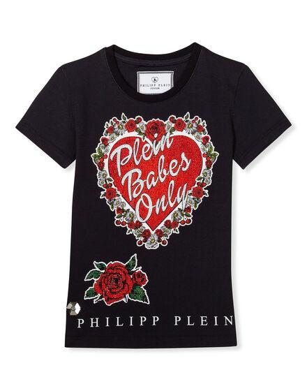 T-shirt Round Neck SS Plein girls only