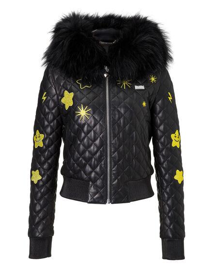 Leather Jacket Nueces