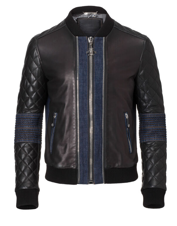 "leather jacket ""baddeck"""