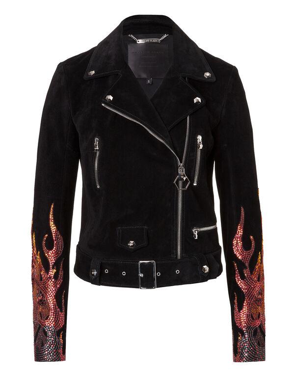 "Leather Jacket ""Bujumbura"""