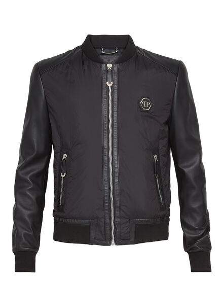 Leather Bomber Bad romance