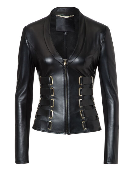 Leather Jacket Kyanite