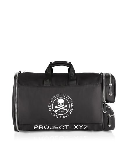 Medium Travel Bag Skull and Plein