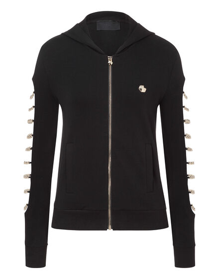 Hoodie Sweatjacket Multicolour chains