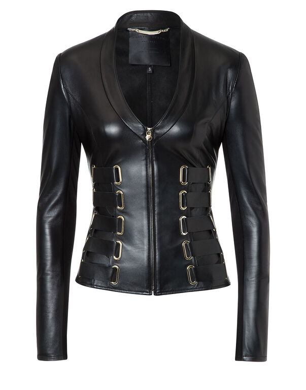 """Leather Jacket """"Kyanite"""""""