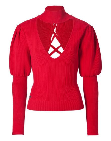 Pullover V-Neck LS Marlyn