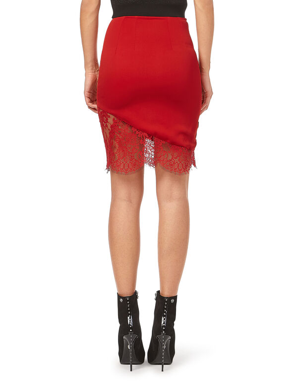 "Short Skirt ""Pizzo Sea"""