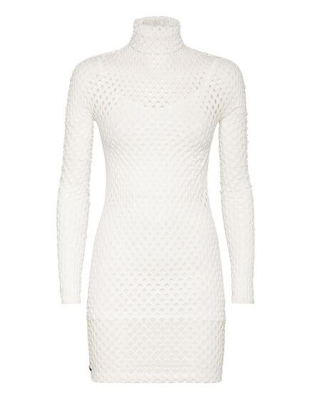 Short Dress Seamless Mesh