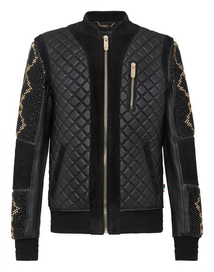 Leather Bomber Nobody Can Stop Us