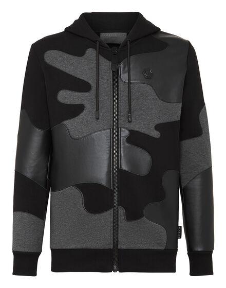 Hoodie Sweatjacket Camouflage