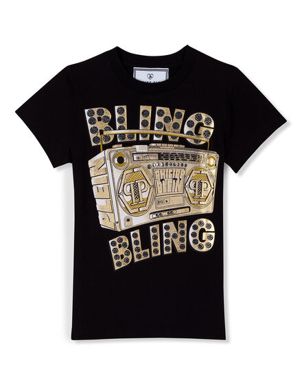 T-Shirt Round Neck SS Bling Bling