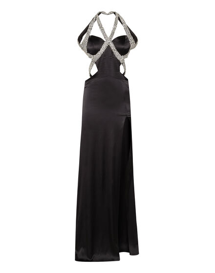 Evening Dress Silked Stone