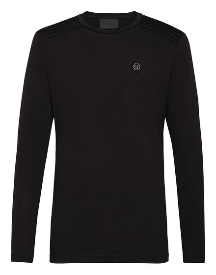 T-shirt Round Neck LS Statement