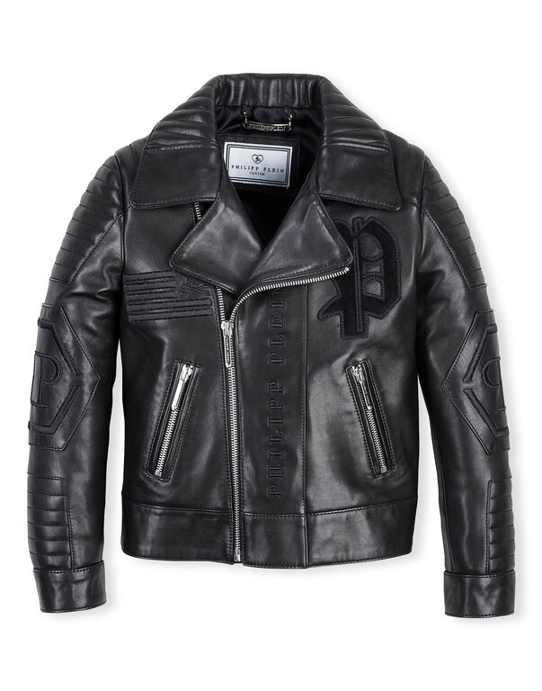 "Leather Biker ""Black Evil"""