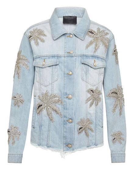 Denim Jacket Aloha Plein