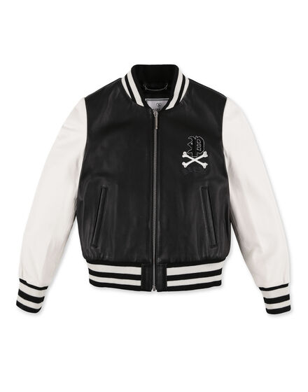 Leather Bomber Paris