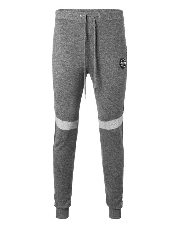 "Knit Jogging Trousers ""Psi"""