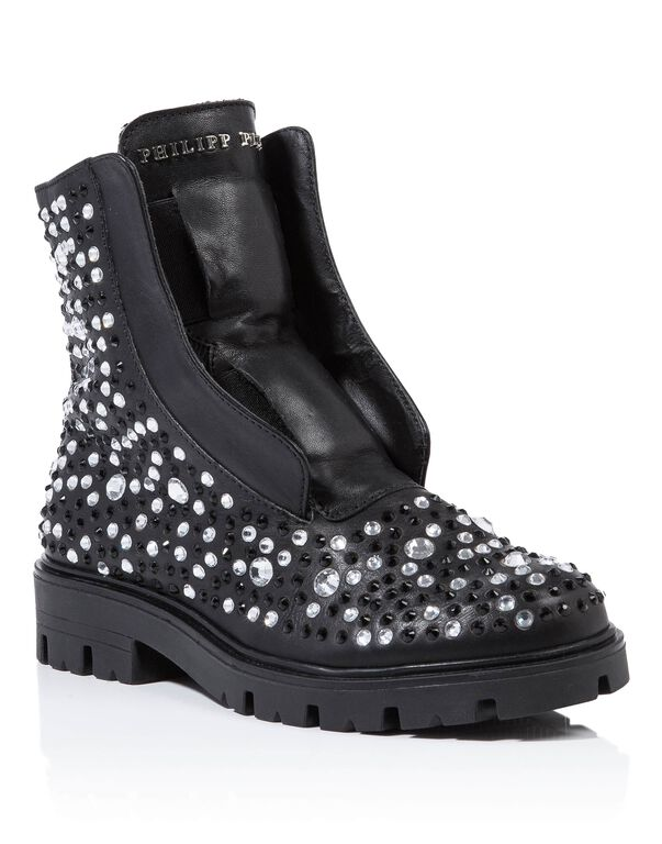 "Boots Low Flat ""samy"""