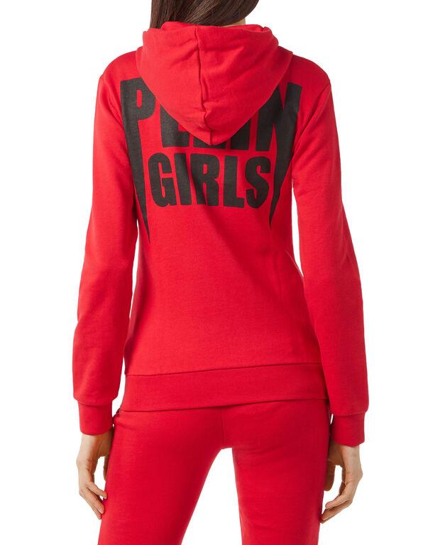 """Hoodie Sweatjacket """"Plein Girls"""""""