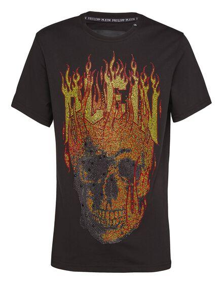 T-shirt Round Neck SS Skull Plein