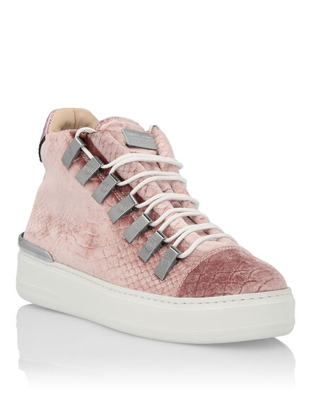 Lo-Top Sneakers Velvet