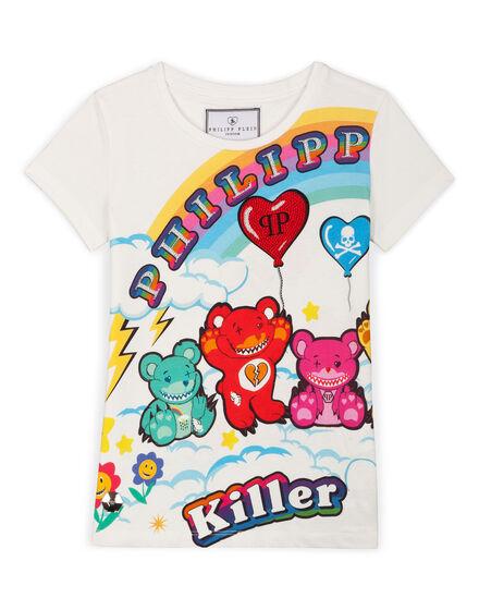 T-shirt Round Neck SS Honey Bear
