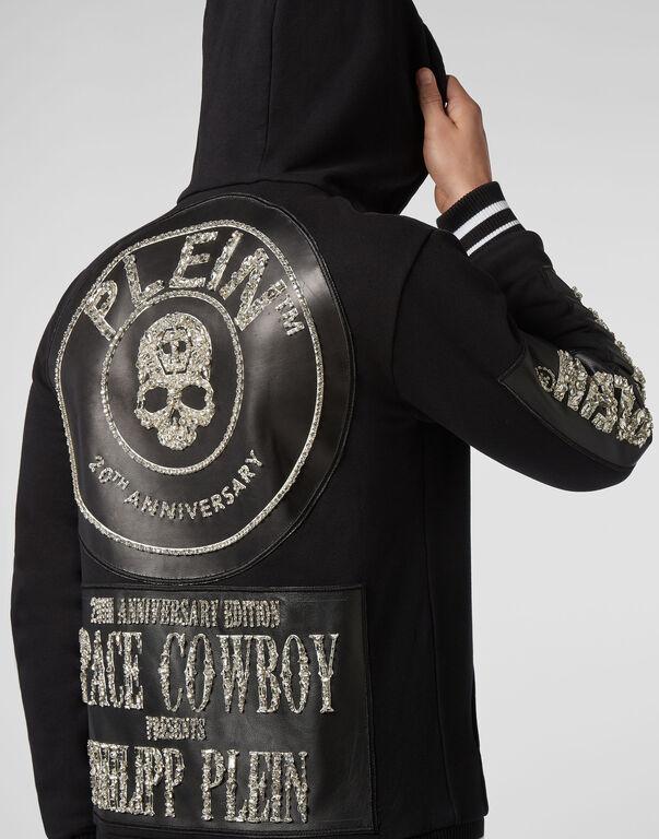 Hoodie Sweatjacket Cowboy