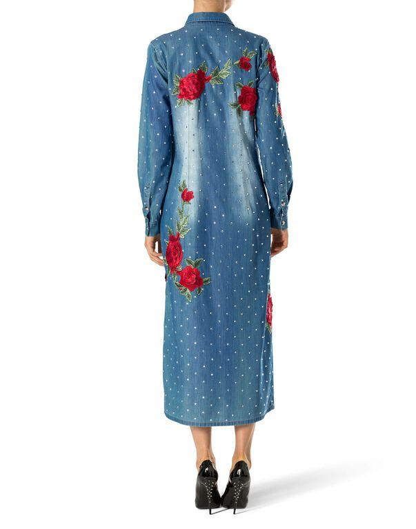 """Denim Shirt Dress """"Gabrielle Lope"""""""
