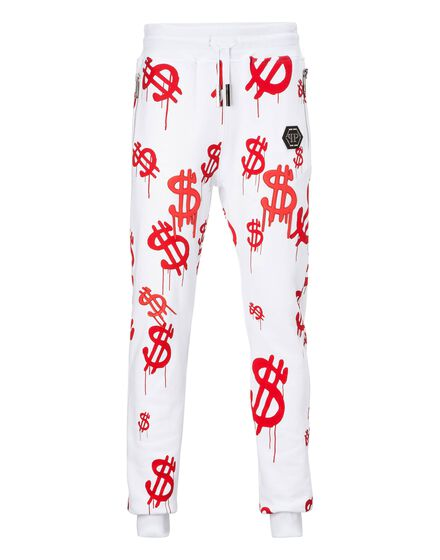 Jogging Trousers Red money