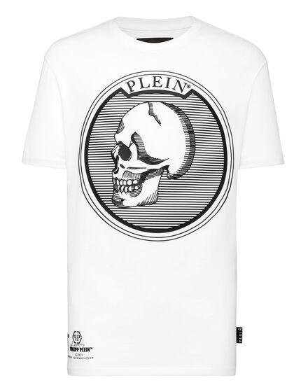 T-shirt Round Neck SS Outline Skull