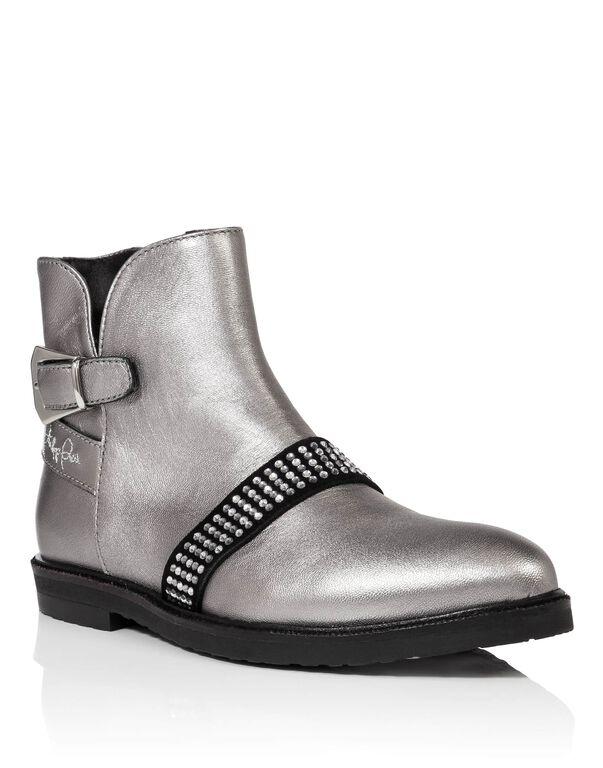 "Boots Low Flat ""agnes"""