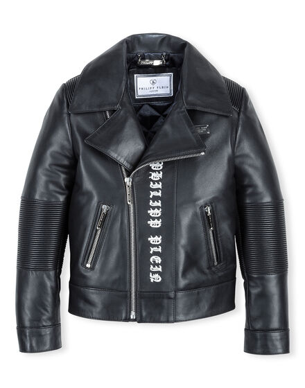 Leather Biker True Star