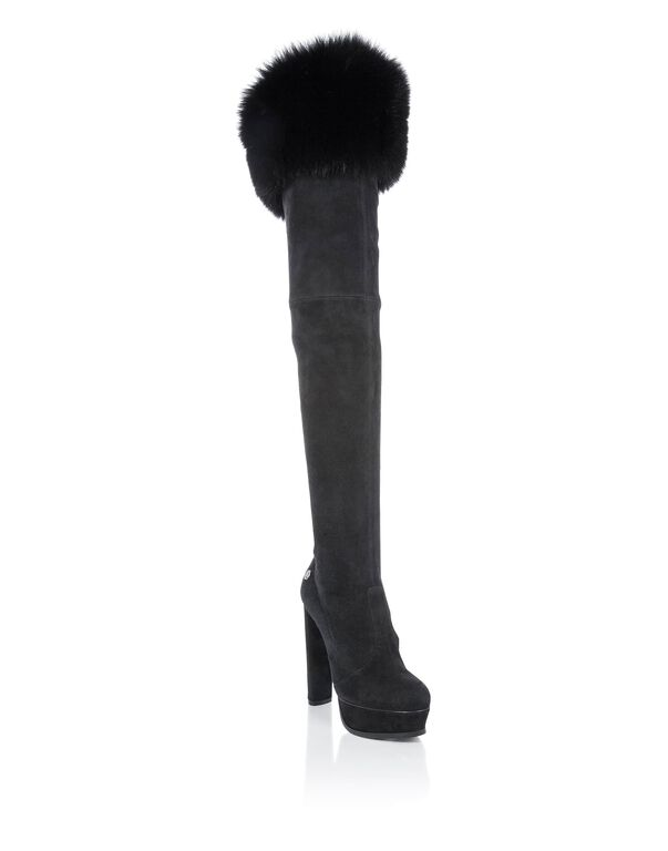 "Boots Hi-Heels Overknees ""JENNIFER ANNA"""
