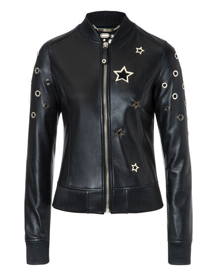 Leather Bomber Chris