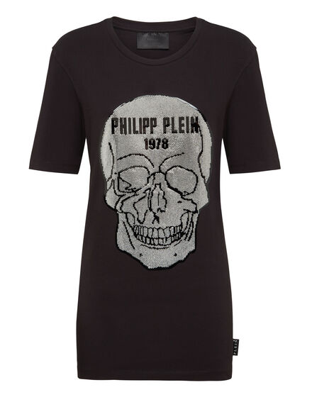 T-Shirt Short Dresses Skull