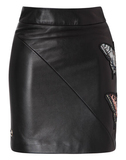leather skirt serafina