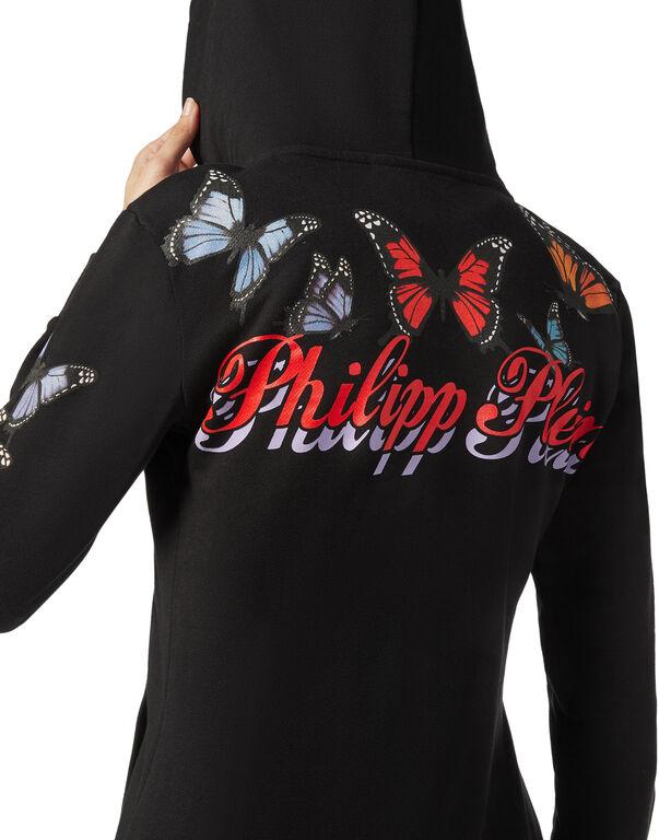 """Hoodie Sweatjacket """"Butterfly"""""""