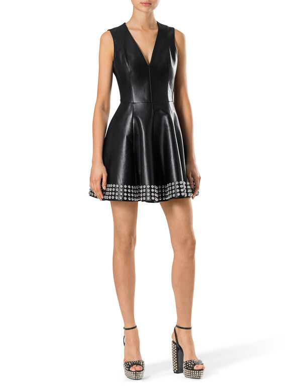 "leather dress ""marry me"""