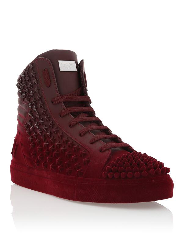 """Hi-Top Sneakers """"Full Stars"""""""