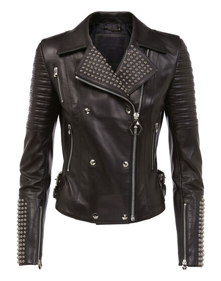 Leather Biker Dunn Marlene