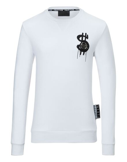 Sweatshirt round neck LS Dollar fly