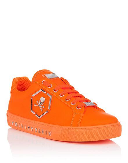 Lo-Top Sneakers Flames fluo version