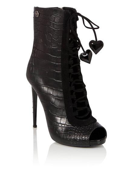 Boots Mid Heels High Carol