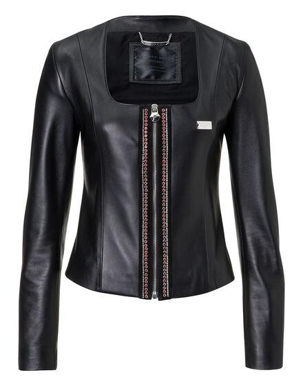 Leather Jacket Sacre Coeur