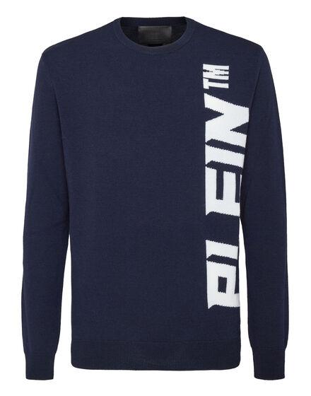 Wool Pullover Round Neck LS