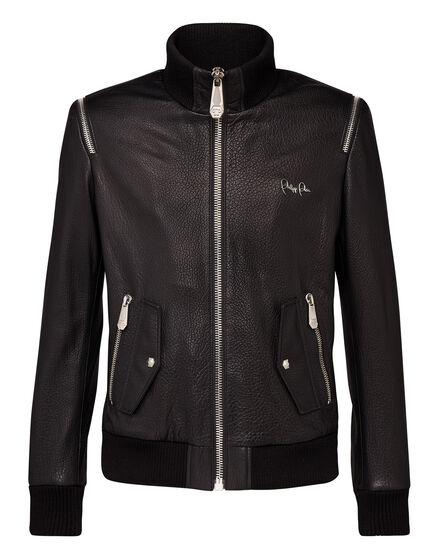 Leather Jacket Zipper