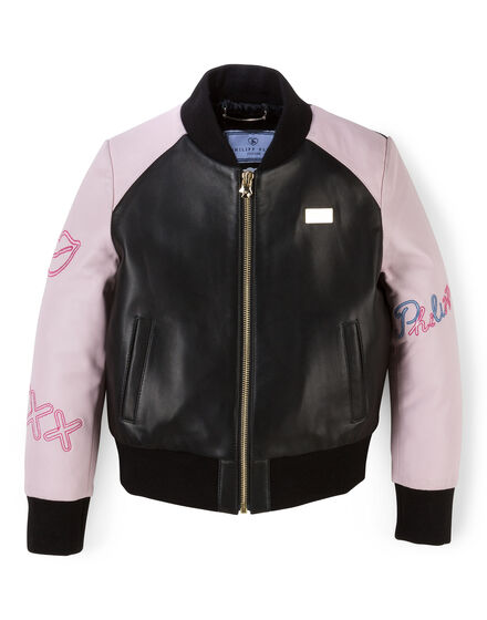 Leather Bomber Love